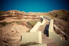 Het strandtreden van Sardinige Lubagnu Royalty-vrije Stock Afbeelding