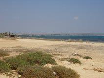 Het Strandvakantie van Cyprus Royalty-vrije Stock Foto's