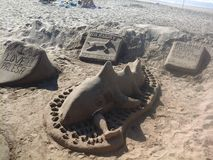 Het strandverwezenlijkingen van Durban Stock Fotografie