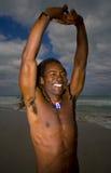 Het streching van Mna in Cuba royalty-vrije stock afbeeldingen