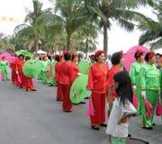Het streven naar dagfestival in hainan, China Royalty-vrije Stock Afbeeldingen