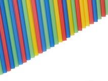 Het stro van de cocktail zoals een regenboog. Royalty-vrije Stock Foto