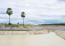 Het stroomgebied Stock Fotografie
