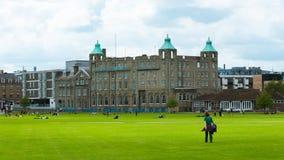 Het stuk Cambridge, Engeland, het UK van Parker Stock Afbeelding