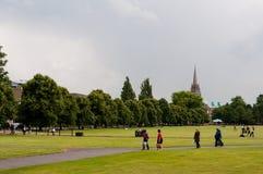 Het Stuk Cambridge, het UK van Parker Stock Afbeelding