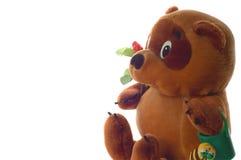 Het stuk speelgoed draagt Stock Foto