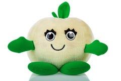 Het stuk speelgoed van de appel Stock Afbeelding