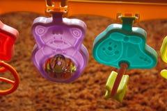 Het stuk speelgoed van de baby Stock Fotografie