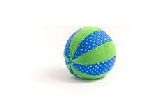 Het stuk speelgoed van de babybal Stock Foto
