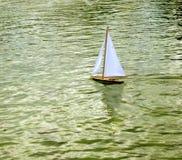 Het stuk speelgoed van de boot Royalty-vrije Stock Afbeelding