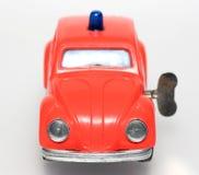 Het stuk speelgoed van de brand de belangrijkste kever van autoVW stock foto