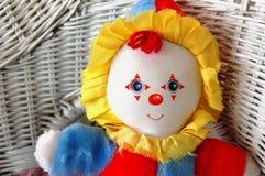 Het stuk speelgoed van de clown Royalty-vrije Stock Foto