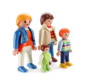 Het stuk speelgoed van de familie Stock Afbeelding