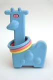 Het stuk speelgoed van de Giraf van het jonge geitje Royalty-vrije Stock Foto's