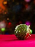 Het stuk speelgoed van de Kerstmisbal Stock Fotografie