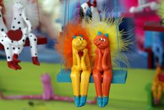 Het stuk speelgoed van de klei Royalty-vrije Stock Foto