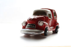 Het stuk speelgoed van de klei auto Stock Afbeeldingen