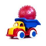 Het stuk speelgoed van de machine Stock Afbeelding
