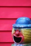 Het stuk speelgoed van de metaalclown Royalty-vrije Stock Afbeelding