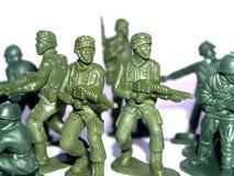 Het stuk speelgoed van de militair Royalty-vrije Stock Fotografie