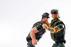 Het stuk speelgoed van de militair Stock Fotografie