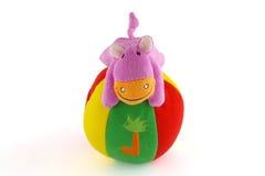 Het stuk speelgoed van de pluche Royalty-vrije Stock Afbeeldingen