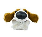 Het stuk speelgoed van de Pluche van de hond Royalty-vrije Stock Fotografie