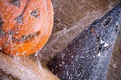 Het stuk speelgoed van de pompoen oranje Halloween partij Royalty-vrije Stock Foto