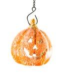 Het stuk speelgoed van de pompoen oranje Halloween partij Royalty-vrije Stock Fotografie