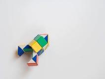 Het stuk speelgoed van de raketdraai Royalty-vrije Stock Foto