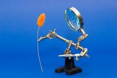 Het Stuk speelgoed van de robot Royalty-vrije Stock Afbeelding