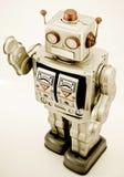 Het stuk speelgoed van de robot Stock Fotografie