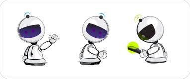 Het stuk speelgoed van de robot vector illustratie