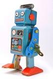 Het stuk speelgoed van de robot Stock Foto