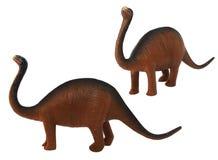 Het stuk speelgoed van de Sauropoddinosaurus foto Royalty-vrije Stock Afbeeldingen