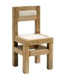 Het stuk speelgoed van de stoel. stock afbeelding