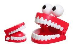 Het Stuk speelgoed van de Tanden van Chattering royalty-vrije stock afbeeldingen