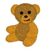 Het stuk speelgoed van de teddybeer Stock Foto