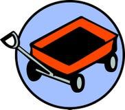 Het stuk speelgoed van de wagen stock illustratie