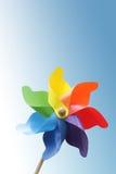 Het stuk speelgoed van de windmolen Royalty-vrije Stock Afbeeldingen