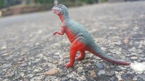 Het stuk speelgoed van Dino royalty-vrije stock foto's