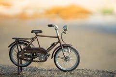 Het stuk speelgoed van het fietsvervoer Royalty-vrije Stock Fotografie