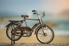 Het stuk speelgoed van het fietsvervoer Royalty-vrije Stock Foto's