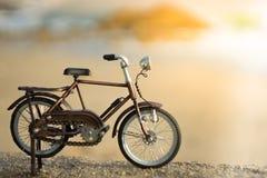 Het stuk speelgoed van het fietsvervoer Royalty-vrije Stock Foto