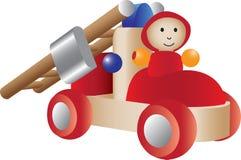 Het stuk speelgoed van Firetruck illustratie Vector Illustratie