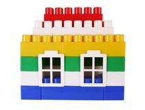 Het stuk speelgoed van het huis stock afbeelding