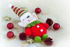 Het stuk speelgoed van het Kerstmiself Stock Afbeeldingen