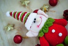 Het stuk speelgoed van het Kerstmiself Stock Foto