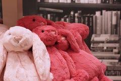 Het stuk speelgoed van het konijntjesmateriaal Royalty-vrije Stock Afbeeldingen