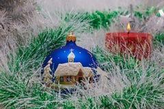 Het stuk speelgoed van het nieuwe jaar royalty-vrije stock afbeeldingen